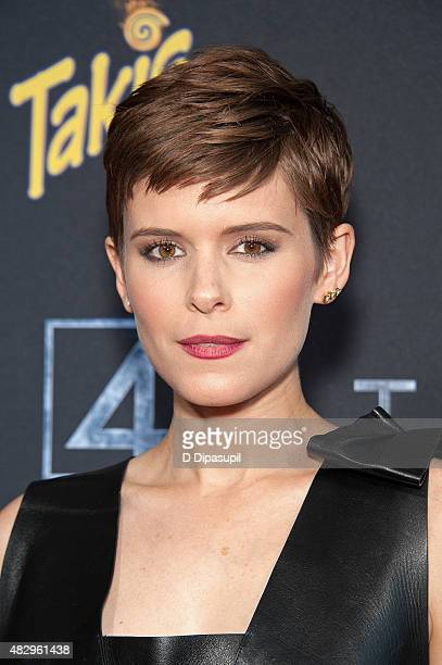 Kate Mara attends the 'Fantastic Four' New York Premiere at Williamsburg Cinemas on August 4 2015 in New York City
