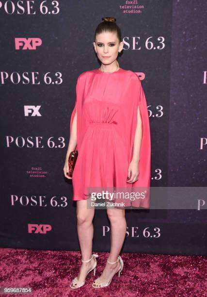 Kate Mara attends the FX TV series New York premiere of 'Pose' at Hammerstein Ballroom on May 17 2018 in New York City