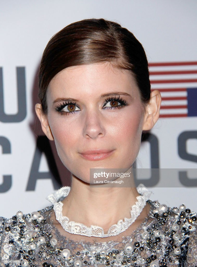 Kate Mara attends the 'House Of Cards' premiere at Alice Tully Hall on January 30, 2013 in New York City.