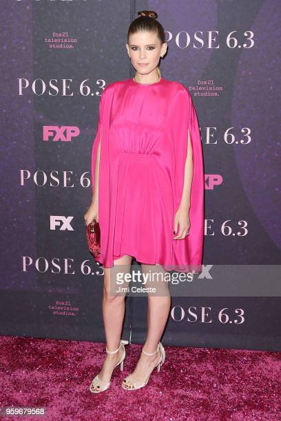 Kate Mara attends the New York premiere of Pose at the Hammerstein Ballroom on May 17 2018 in New York New York
