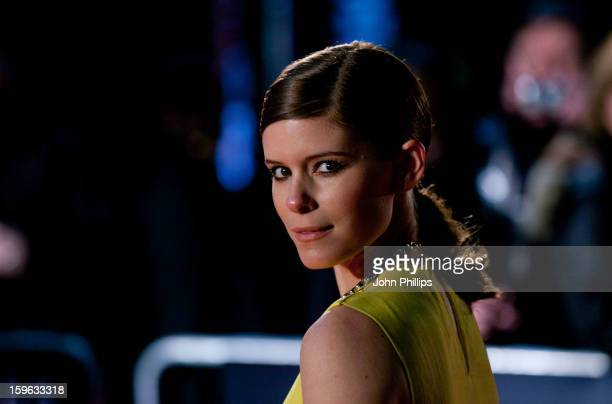 Kate Mara attends the red carpet premiere for the launch of Netflix Original Series, House of Cards on January 17, 2013 in London, United Kingdom.