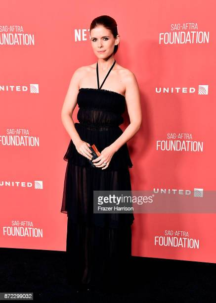 Kate Mara attends the SAGAFTRA Foundation Patron of the Artists Awards 2017 at the Wallis Annenberg Center for the Performing Arts on November 9 2017...