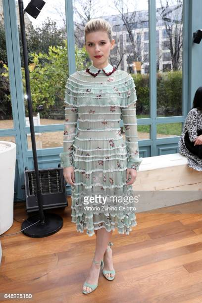 Kate Mara attends the Valentino show as part of the Paris Fashion Week Womenswear Fall/Winter 2017/2018 on March 5 2017 in Paris France