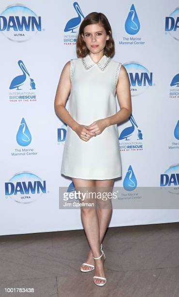 Kate Mara celebrates Dawn's wildlife initiative at Grand Central Station on July 19 2018 in New York City