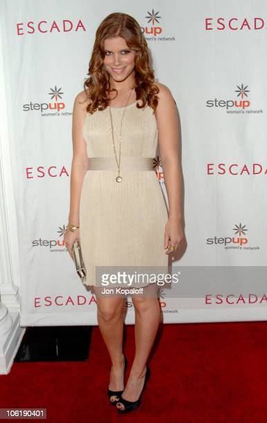 Kate Mara during Escada And Jessica Alba Toast Step Up Women's Network April 19 2007 at Beverly Wilshire Hotel in Beverly Hills California United...