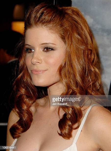 Kate Mara during Shooter Los Angeles Premiere Arrivals at Mann Village Theatre in Westwood California United States
