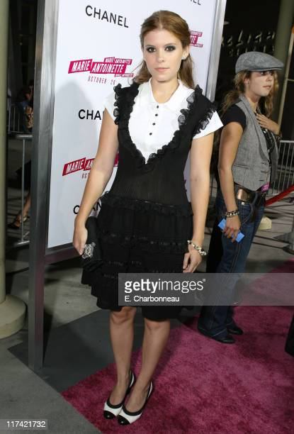 Kate Mara during Special Screening of Columbia Pictures' 'Marie Antoinette' hosted by Chanel at Arlight Cinemas/Chateau Marmont in Los Angeles...