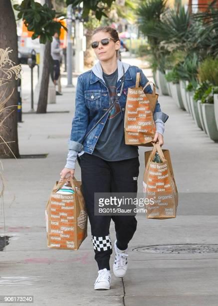 Kate Mara is seen on January 17 2018 in Los Angeles California