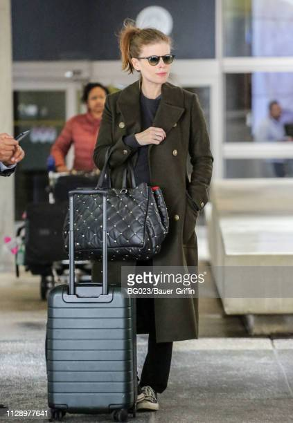 Kate Mara is seen on March 06, 2019 in Los Angeles, California.