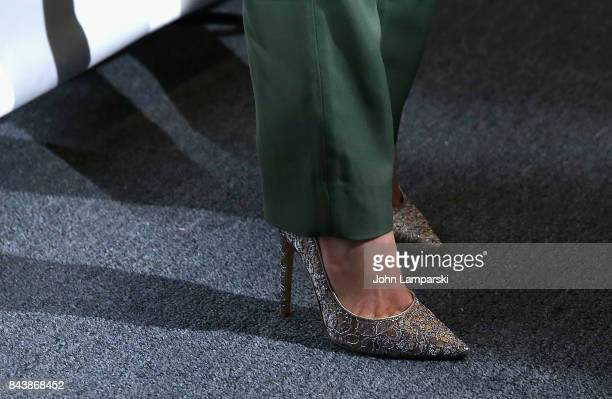Kate Mara shoe detail attends Noon By Noor September 2017 New York Fashion Week The Shows at Gallery 3 Skylight Clarkson Sq on September 7 2017 in...