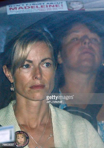 Kate McCann and Gerry McCann leave their Praia da Luz apartment to return to the UK on September 9 2007 in Praia da Luz Portugal The McCanns have...