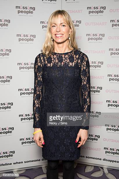 Kate McCann arrives for the 'Home for Christmas' fundraising dinner and auction in aid of Missing People at the Corinthia Hotel on November 05 2015...
