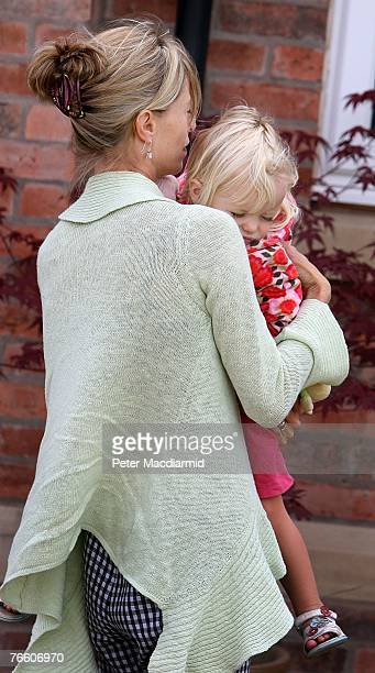 Kate McCann arrives home with her daughter Amelie on September 9 2007 in Rothley England The McCann family have returned from Portugal after local...