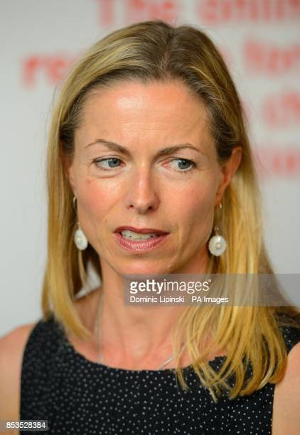 Kate McCann at the launch of the new Child Rescue Alert system and a new Child Abduction Hub at the House of Lords in Westminster central London