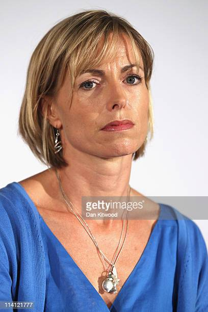 Kate McCann launches her book' 'Madeleine' and answer questions from the press alongside her husband Gerry McCann at the Queen Elizabeth II centre on...