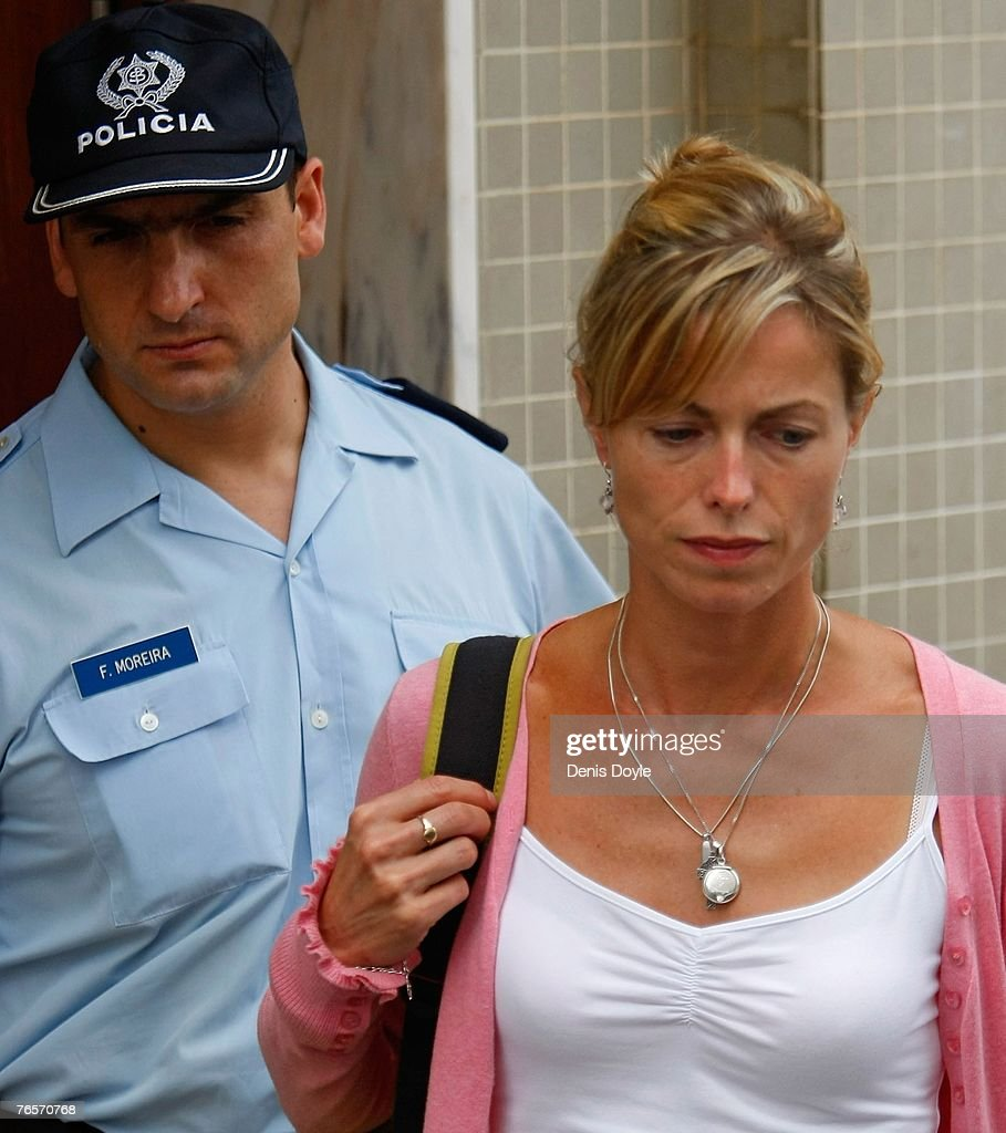 Police Question The McCann's In Portugal : News Photo