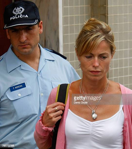 Kate McCann leaves a police station in Portimao on September 7 2007 in Portugal Kate McCann was released without charge but has now been named as a...