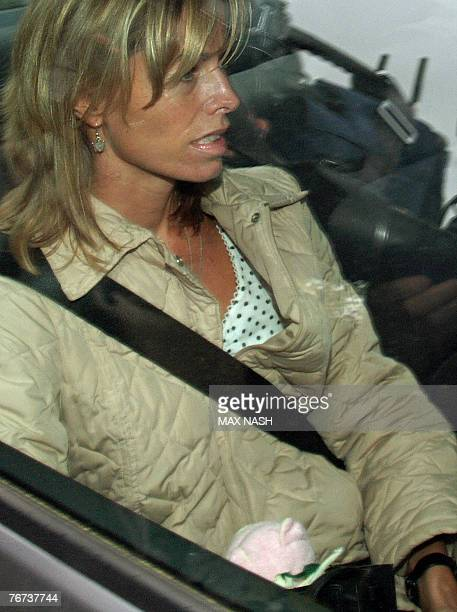 Kate McCann leaves her home in Rothley in Leicestershire in central England 14 September 2007 The parents of Madeleine McCann the girl who vanished...