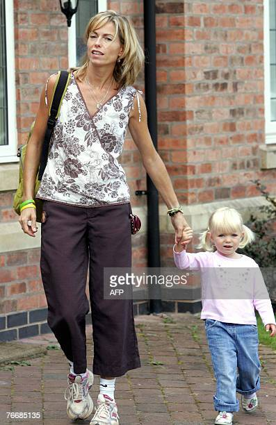 Kate McCann leaves her home in Rothley Leicestershire central England with her daughter Amelie 12 September 2007 As the pressure grows on the parents...