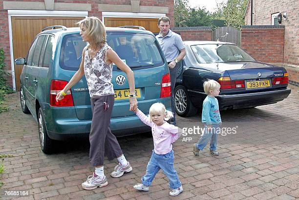 Kate McCann leaves her home with husband Gerry in Rothley Leicestershire central England with their children Sean and Amelie As the pressure grows on...
