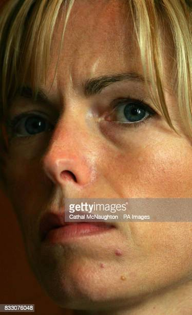 Kate McCann pictured during a press conference in the Hilton Hotel Rabat during their visit to Morocco Kate and Gerry McCann flew from Lisbon to...