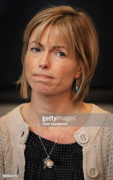 Kate McCann speaks to reporters on February 19 2010 in London Yesterday the McCann's won a legal battle to stop the publication of a book entitled...