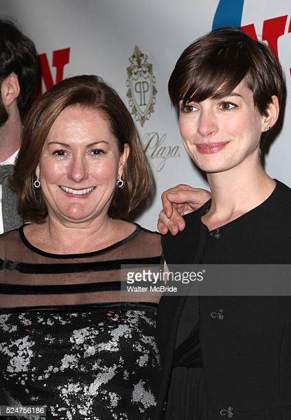 Kate McCauley Hathaway Anne Hathaway attending the Opening Night Performance of 'Ann' starring Holland Taylor at the Vivian Beaumont Theatre in New...