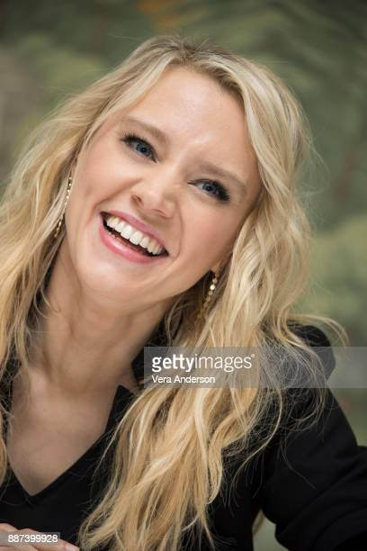 Kate McKinnon at the Ferdinand Press Conference at the London Hotel on December 4 2017 in New York City