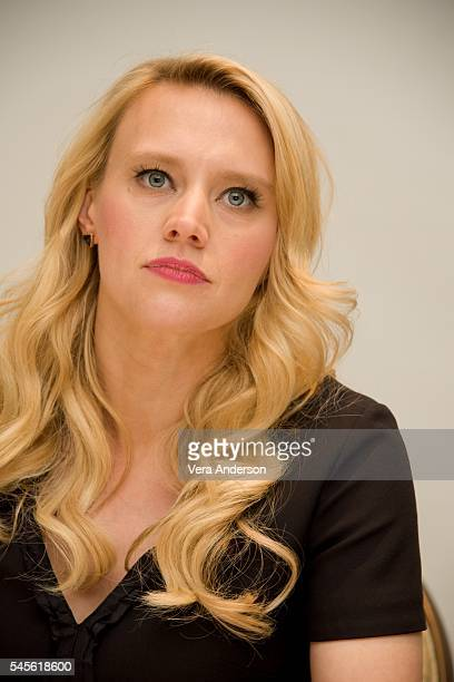 Kate McKinnon at the 'Ghostbusters' Press Conference at the Four Seasons Hotel on July 8 2016 in Beverly Hills California