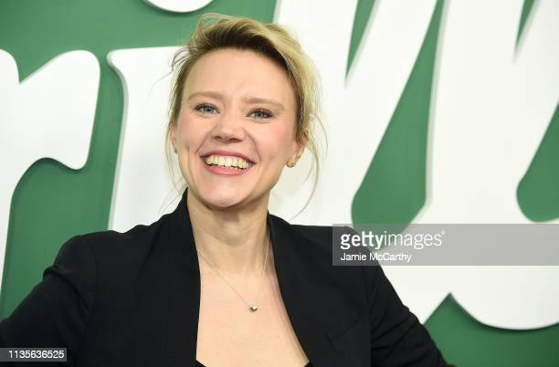 Kate McKinnon attends Hulu's Shrill New York Premiere at Walter Reade Theater on March 13 2019 in New York City