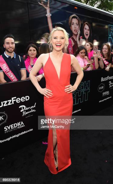 Kate McKinnon attends New York Premiere of Sony's ROUGH NIGHT presented by SVEDKA Vodka at AMC Lincoln Square Theater on June 12 2017 in New York City