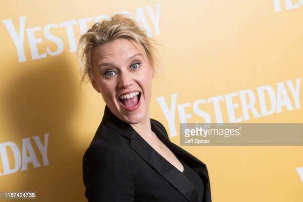Kate McKinnon attends special screening of Yesterday on June 21 2019 in GorlestononSea England