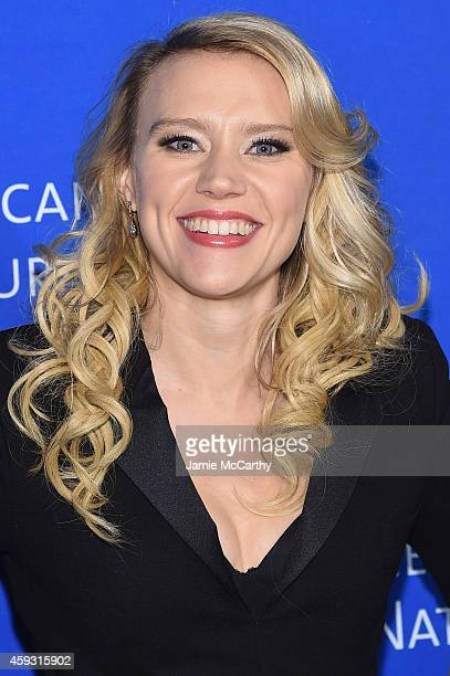 Kate McKinnon attends the 2014 Museum Gala at American Museum of Natural History on November 20 2014 in New York City