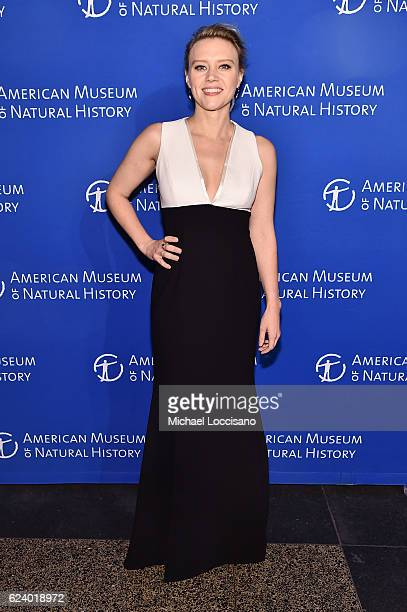 Kate McKinnon attends the 2016 American Museum of Natural History Museum Gala at the American Museum of Natural History on November 17 2016 in New...