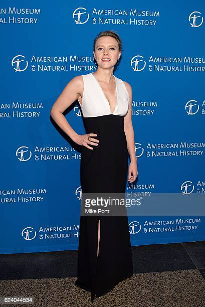 Kate McKinnon attends the 2016 American Museum Of Natural History Museum Gala at American Museum of Natural History on November 17 2016 in New York...