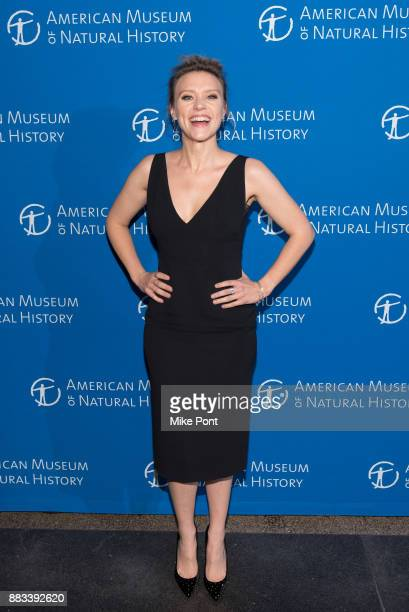 Kate McKinnon attends the 2017 American Museum of Natural History Museum Gala at the American Museum of Natural History on November 30 2017 in New...