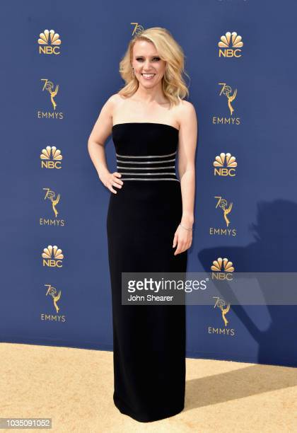 Kate McKinnon attends the 70th Emmy Awards at Microsoft Theater on September 17 2018 in Los Angeles California