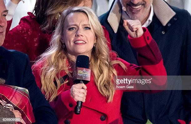 Kate McKinnon attends the 84th Rockefeller Center Christmas Tree Lighting ceremony at Rockefeller Center on November 30 2016 in New York City