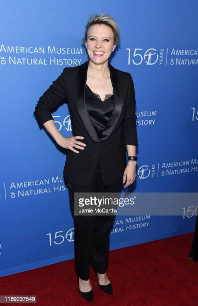 Kate McKinnon attends the American Museum Of Natural History 2019 Gala at the American Museum of Natural History on November 21 2019 in New York City