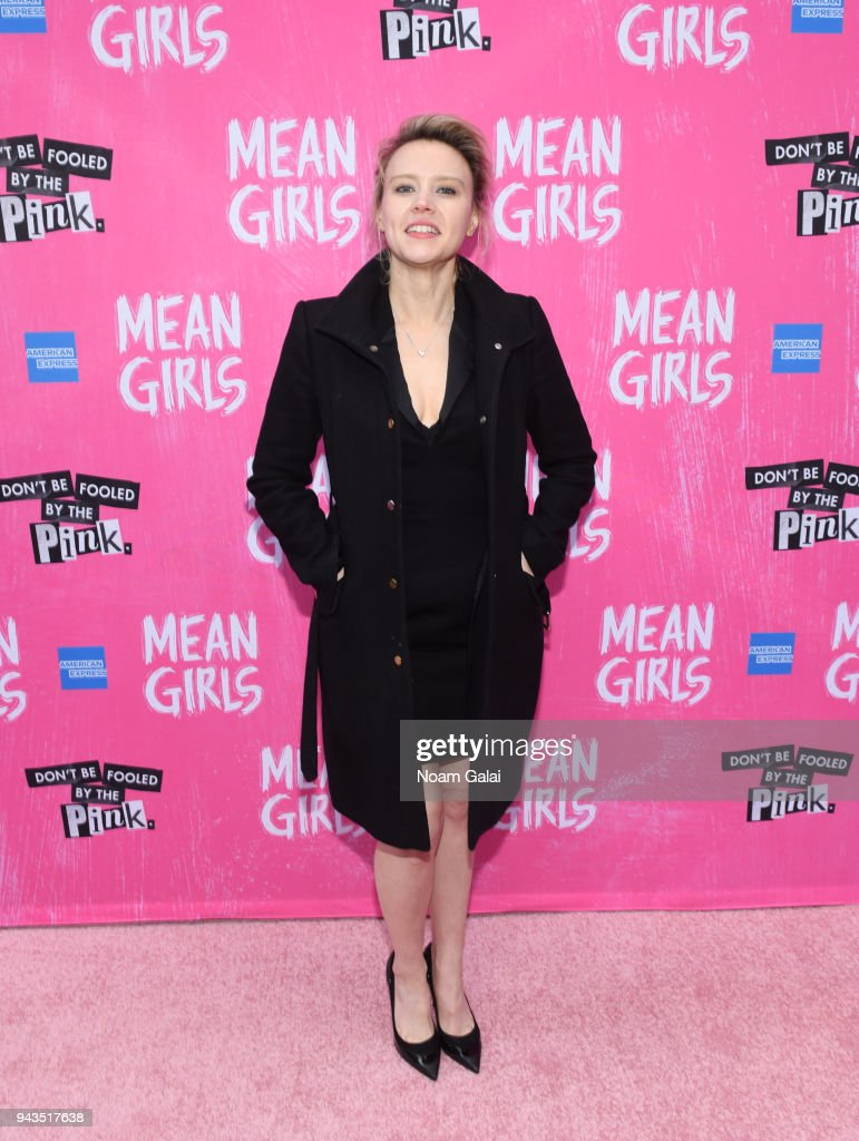 Kate McKinnon attends the opening night of 'Mean Girls' on Broadway at August Wilson Theatre on April 8, 2018 in New York City.
