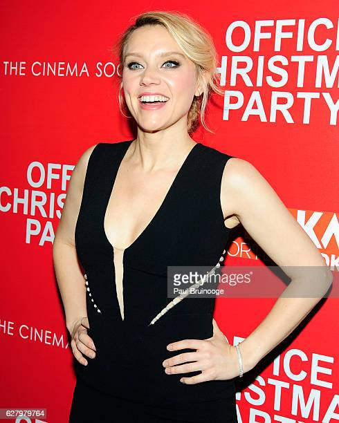"Kate McKinnon attends the Paramount Pictures with Paramount Pictures with The Cinema Society & Svedka Host a Screening of ""Office Christmas Party"" at..."