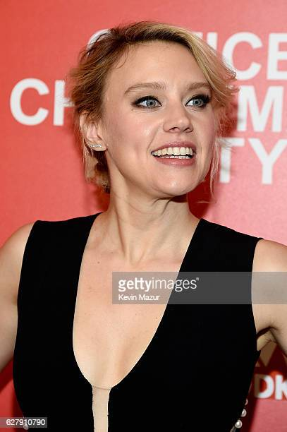 Kate McKinnon attends the Paramount Pictures with The Cinema Society Svedka host a screening of 'Office Christmas Party' at Landmark Sunshine Cinema...