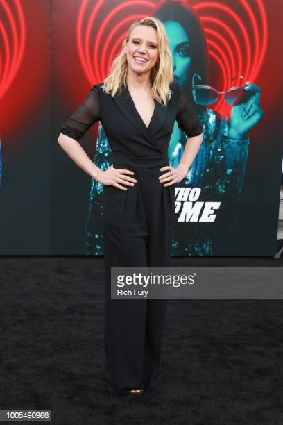 Kate McKinnon attends the premiere of Lionsgate's The Spy Who Dumped Me at Fox Village Theater on July 25 2018 in Los Angeles California