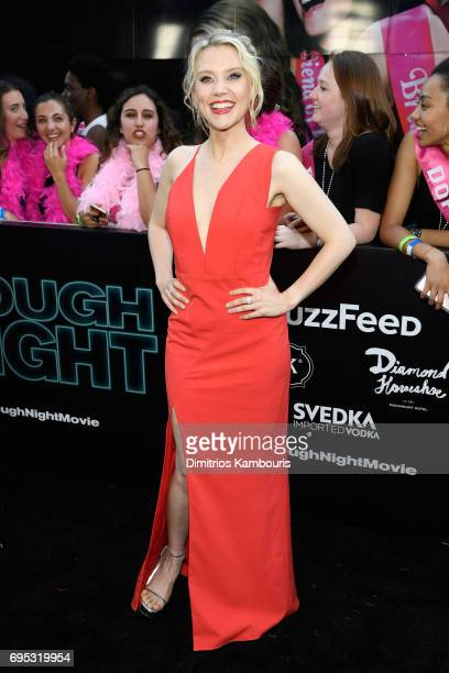 Kate McKinnon attends the Rough Night premeire at AMC Loews Lincoln Square on June 12 2017 in New York City