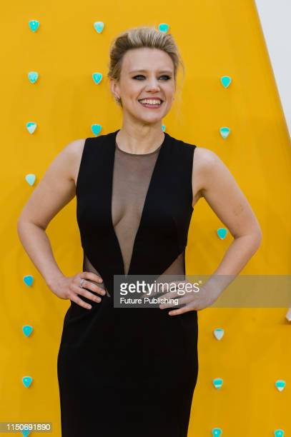 Kate McKinnon attends the UK film premiere of 'Yesterday' at the Odeon Luxe Leicester Square on 18 June 2019 in London England