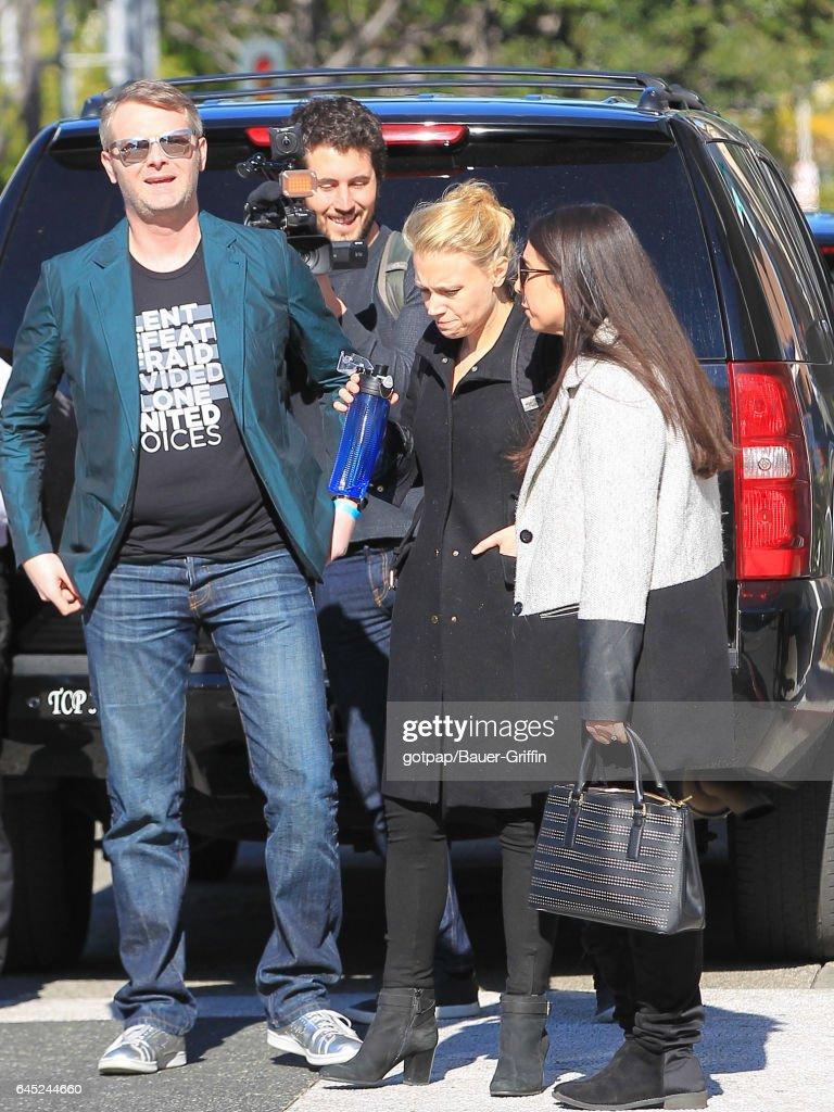 Celebrity Sightings In Los Angeles - February 24, 2017