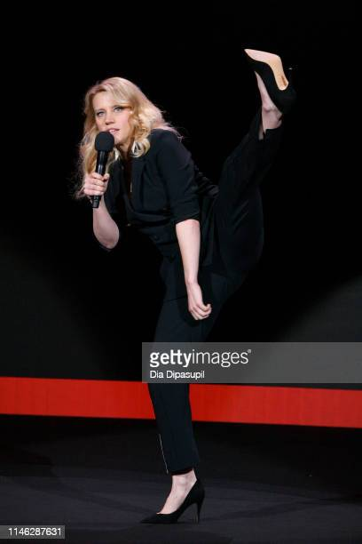 Kate McKinnon speaks onstage during the Hulu '19 Presentation at Hulu Theater at MSG on May 01, 2019 in New York City.