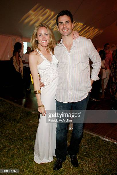 Kate Meckler and Daniel Entwistle attend LOVE HEALS The Alison Gertz Foundation for AIDS Education at Luna Farm Sagaponack on June 23 2007 in...