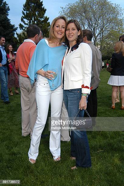 Kate Meckler and Eleanor Prauge attend Reed and Delphine Krakoff host cocktails to kick off the Parrish Art Museum Midsummer Gala Benefit at Reed and...