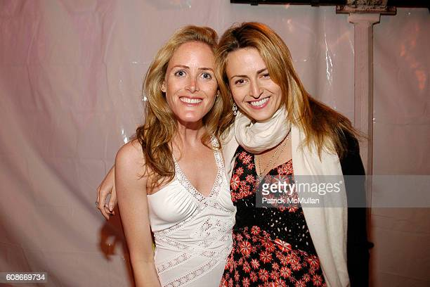 Kate Meckler and Stacy Pashcowgardi attend LOVE HEALS The Alison Gertz Foundation for AIDS Education at Luna Farm Sagaponack on June 23 2007 in...